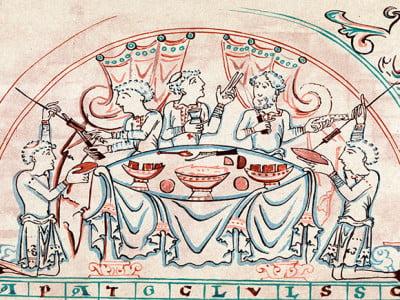 la gastronomia en la antiguedad