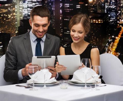 tecnología en el restaurante
