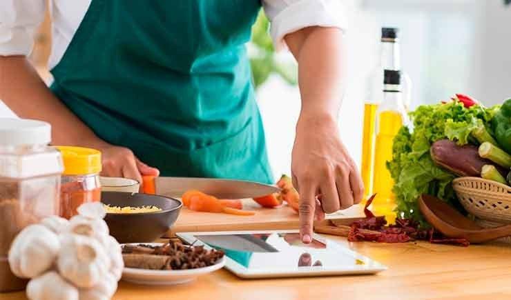 tecnologia en la cocina