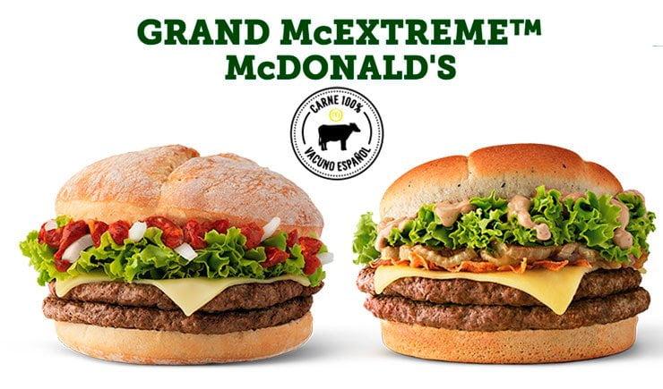 comida de fast food