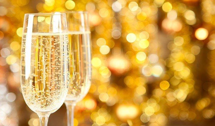 evento de champagne