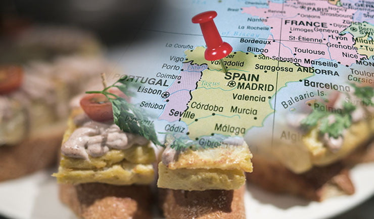 tapas y aperitivos españoles