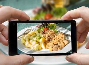 fotografías en el menú de tu restaurante
