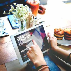 Las tablets en los restaurantes