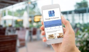 pagina de restaurante de google my business