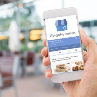 pagina de restaurante de google my business
