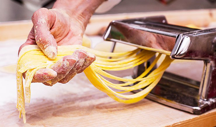 receta de pasta italiana