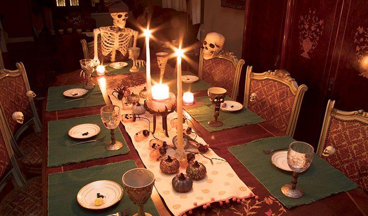 Cenas y comidas temáticas