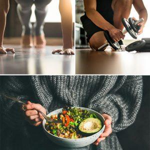 Ejercicio y alimentación saludable
