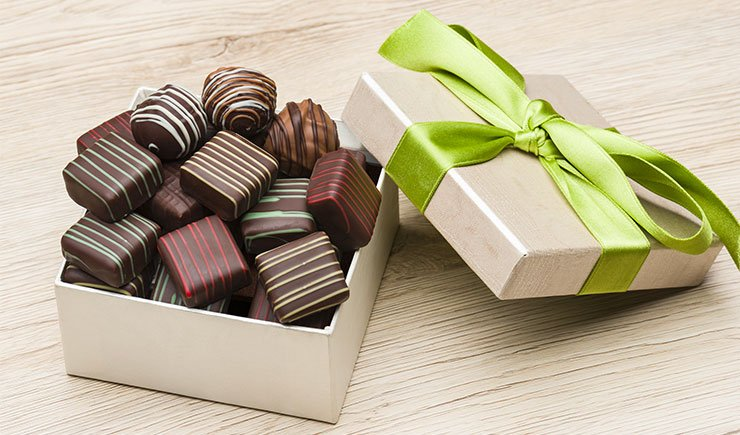 regalos con chocolate